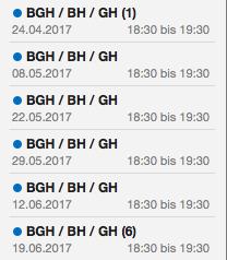 Begleithundetraining Sporthunde BGH Wien